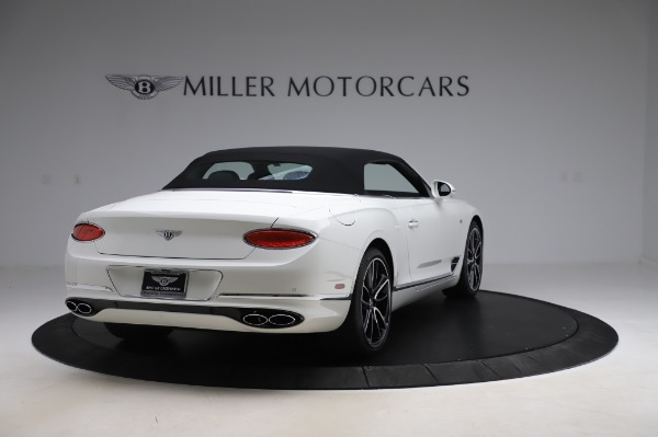 New 2020 Bentley Continental GT Convertible V8 First Edition for sale $281,365 at Rolls-Royce Motor Cars Greenwich in Greenwich CT 06830 18