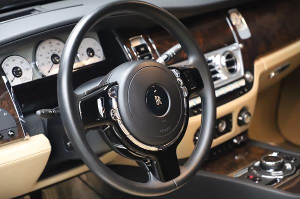Used 2016 Rolls-Royce Ghost for sale $175,900 at Rolls-Royce Motor Cars Greenwich in Greenwich CT 06830 17