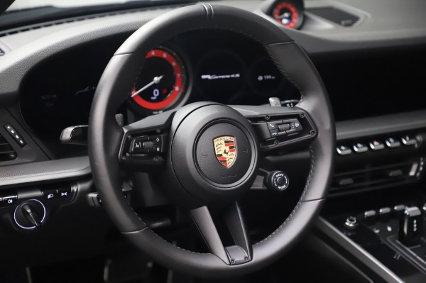 Used 2020 Porsche 911 Carrera 4S for sale Call for price at Rolls-Royce Motor Cars Greenwich in Greenwich CT 06830 20