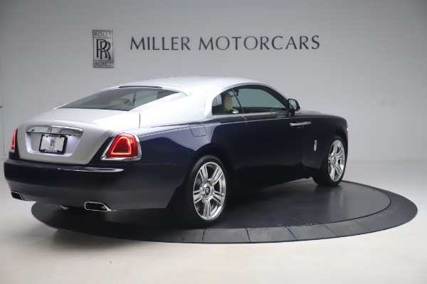 Used 2015 Rolls-Royce Wraith for sale $179,900 at Rolls-Royce Motor Cars Greenwich in Greenwich CT 06830 7