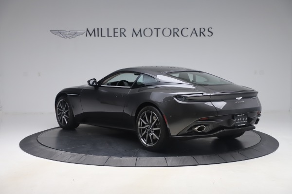 Used 2019 Aston Martin DB11 V8 Coupe for sale $159,900 at Rolls-Royce Motor Cars Greenwich in Greenwich CT 06830 4