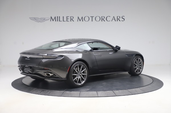 Used 2019 Aston Martin DB11 V8 Coupe for sale $159,900 at Rolls-Royce Motor Cars Greenwich in Greenwich CT 06830 7