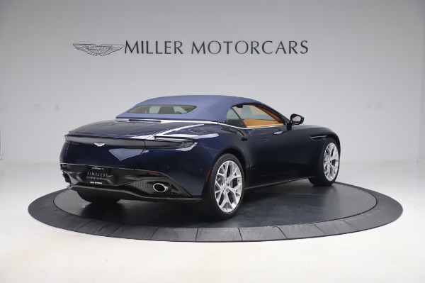 Used 2019 Aston Martin DB11 Volante Convertible for sale $209,900 at Rolls-Royce Motor Cars Greenwich in Greenwich CT 06830 23