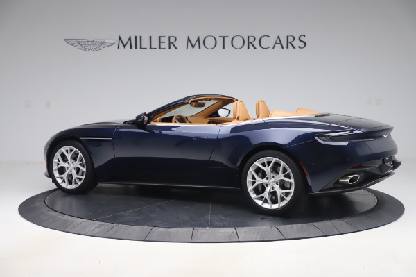 Used 2019 Aston Martin DB11 Volante Convertible for sale $209,900 at Rolls-Royce Motor Cars Greenwich in Greenwich CT 06830 3