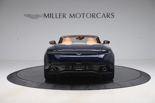 Used 2019 Aston Martin DB11 Volante Convertible for sale $209,900 at Rolls-Royce Motor Cars Greenwich in Greenwich CT 06830 5