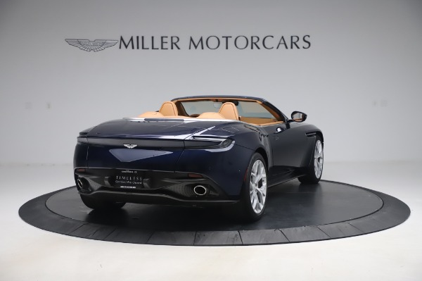 Used 2019 Aston Martin DB11 Volante Convertible for sale $209,900 at Rolls-Royce Motor Cars Greenwich in Greenwich CT 06830 6
