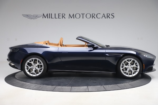 Used 2019 Aston Martin DB11 Volante Convertible for sale $209,900 at Rolls-Royce Motor Cars Greenwich in Greenwich CT 06830 8
