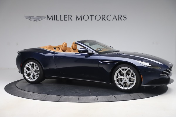 Used 2019 Aston Martin DB11 Volante Convertible for sale $209,900 at Rolls-Royce Motor Cars Greenwich in Greenwich CT 06830 9