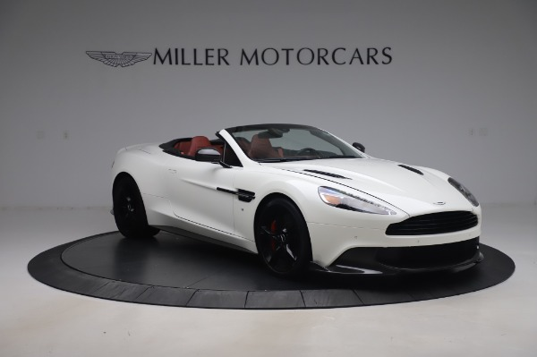 Used 2018 Aston Martin Vanquish S Volante for sale $183,900 at Rolls-Royce Motor Cars Greenwich in Greenwich CT 06830 10