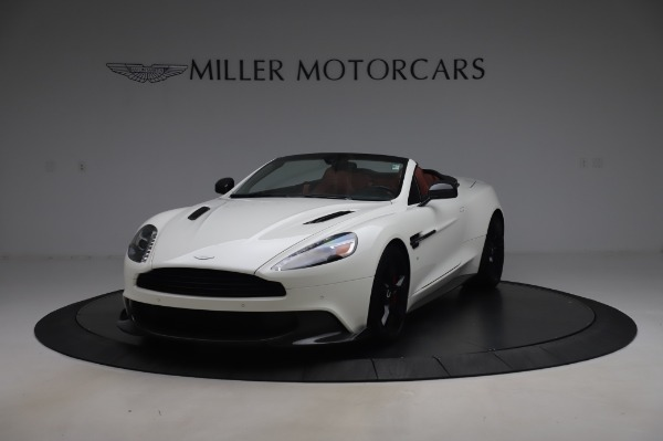 Used 2018 Aston Martin Vanquish S Volante for sale $183,900 at Rolls-Royce Motor Cars Greenwich in Greenwich CT 06830 12
