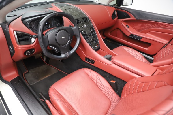 Used 2018 Aston Martin Vanquish S Volante for sale $183,900 at Rolls-Royce Motor Cars Greenwich in Greenwich CT 06830 13