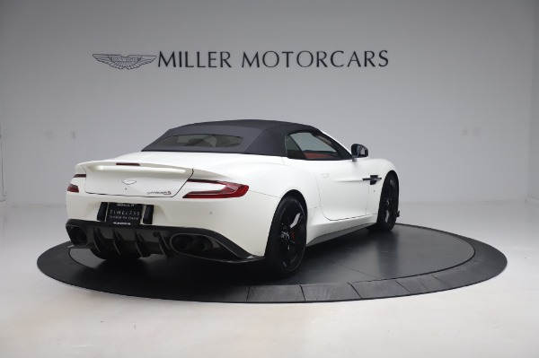 Used 2018 Aston Martin Vanquish S Volante for sale $183,900 at Rolls-Royce Motor Cars Greenwich in Greenwich CT 06830 24