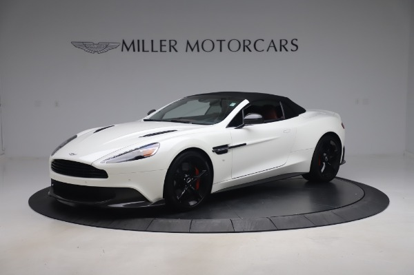 Used 2018 Aston Martin Vanquish S Volante for sale $183,900 at Rolls-Royce Motor Cars Greenwich in Greenwich CT 06830 27