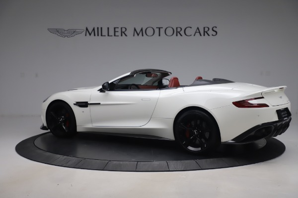 Used 2018 Aston Martin Vanquish S Volante for sale $183,900 at Rolls-Royce Motor Cars Greenwich in Greenwich CT 06830 3