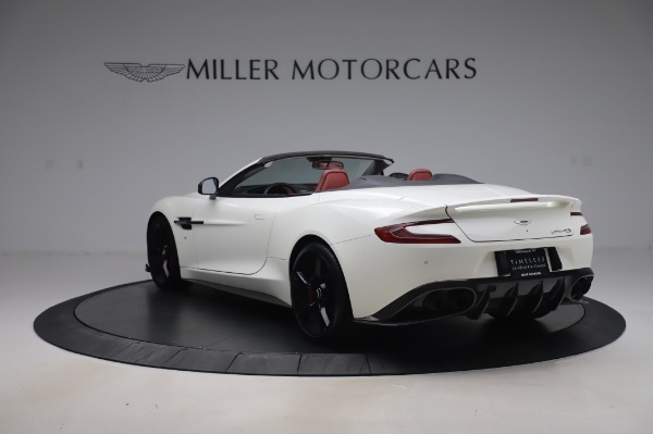 Used 2018 Aston Martin Vanquish S Volante for sale $183,900 at Rolls-Royce Motor Cars Greenwich in Greenwich CT 06830 4