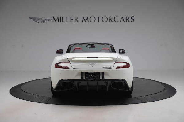 Used 2018 Aston Martin Vanquish S Volante for sale $183,900 at Rolls-Royce Motor Cars Greenwich in Greenwich CT 06830 5