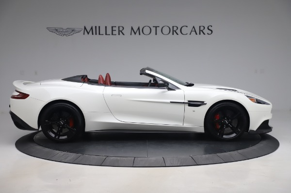 Used 2018 Aston Martin Vanquish S Volante for sale $183,900 at Rolls-Royce Motor Cars Greenwich in Greenwich CT 06830 8