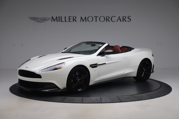Used 2018 Aston Martin Vanquish S Volante for sale $183,900 at Rolls-Royce Motor Cars Greenwich in Greenwich CT 06830 1