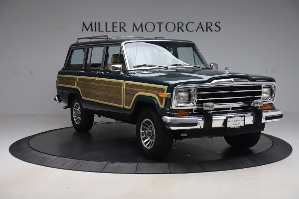 Used 1991 Jeep Grand Wagoneer for sale $89,900 at Rolls-Royce Motor Cars Greenwich in Greenwich CT 06830 11