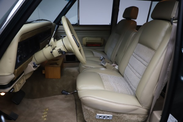 Used 1991 Jeep Grand Wagoneer for sale $89,900 at Rolls-Royce Motor Cars Greenwich in Greenwich CT 06830 13
