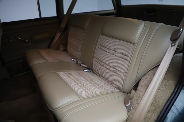 Used 1991 Jeep Grand Wagoneer for sale $89,900 at Rolls-Royce Motor Cars Greenwich in Greenwich CT 06830 17