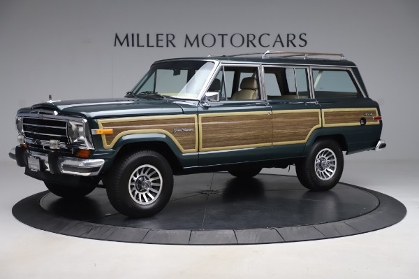 Used 1991 Jeep Grand Wagoneer for sale $89,900 at Rolls-Royce Motor Cars Greenwich in Greenwich CT 06830 2