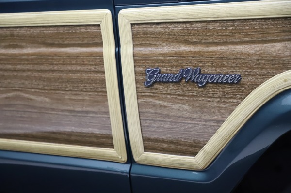 Used 1991 Jeep Grand Wagoneer for sale $89,900 at Rolls-Royce Motor Cars Greenwich in Greenwich CT 06830 28