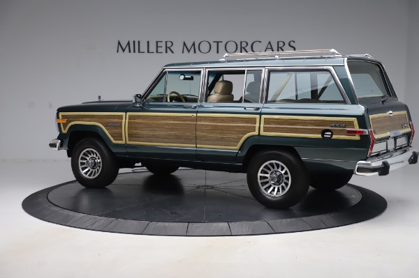 Used 1991 Jeep Grand Wagoneer for sale $89,900 at Rolls-Royce Motor Cars Greenwich in Greenwich CT 06830 4