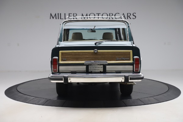 Used 1991 Jeep Grand Wagoneer for sale $89,900 at Rolls-Royce Motor Cars Greenwich in Greenwich CT 06830 6