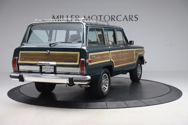 Used 1991 Jeep Grand Wagoneer for sale $89,900 at Rolls-Royce Motor Cars Greenwich in Greenwich CT 06830 7