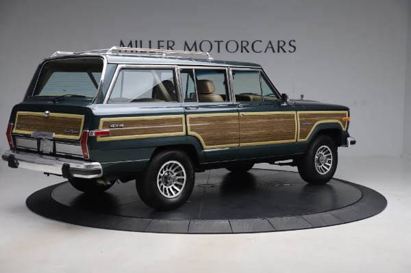 Used 1991 Jeep Grand Wagoneer for sale $89,900 at Rolls-Royce Motor Cars Greenwich in Greenwich CT 06830 8