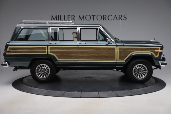 Used 1991 Jeep Grand Wagoneer for sale $89,900 at Rolls-Royce Motor Cars Greenwich in Greenwich CT 06830 9