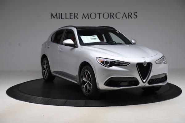 New 2020 Alfa Romeo Stelvio Ti Sport Q4 for sale $53,545 at Rolls-Royce Motor Cars Greenwich in Greenwich CT 06830 11