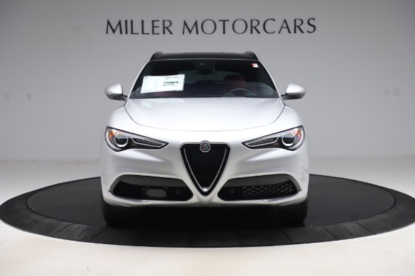 New 2020 Alfa Romeo Stelvio Ti Sport Q4 for sale $53,545 at Rolls-Royce Motor Cars Greenwich in Greenwich CT 06830 12