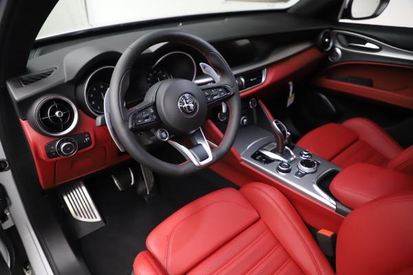 New 2020 Alfa Romeo Stelvio Ti Sport Q4 for sale $53,545 at Rolls-Royce Motor Cars Greenwich in Greenwich CT 06830 13