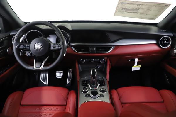 New 2020 Alfa Romeo Stelvio Ti Sport Q4 for sale $53,545 at Rolls-Royce Motor Cars Greenwich in Greenwich CT 06830 16