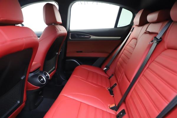 New 2020 Alfa Romeo Stelvio Ti Sport Q4 for sale $53,545 at Rolls-Royce Motor Cars Greenwich in Greenwich CT 06830 19