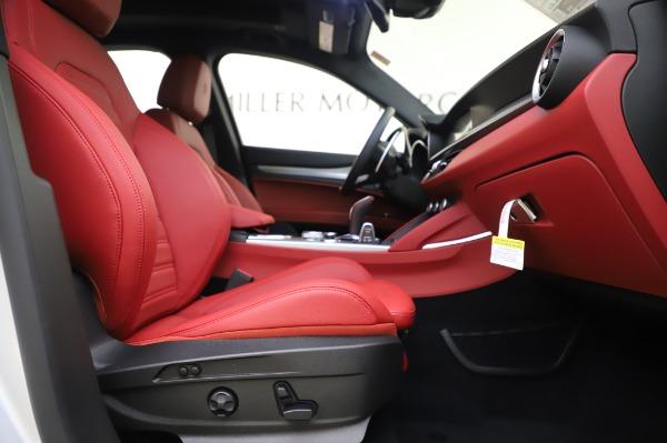 New 2020 Alfa Romeo Stelvio Ti Sport Q4 for sale $53,545 at Rolls-Royce Motor Cars Greenwich in Greenwich CT 06830 22
