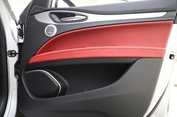 New 2020 Alfa Romeo Stelvio Ti Sport Q4 for sale $53,545 at Rolls-Royce Motor Cars Greenwich in Greenwich CT 06830 24