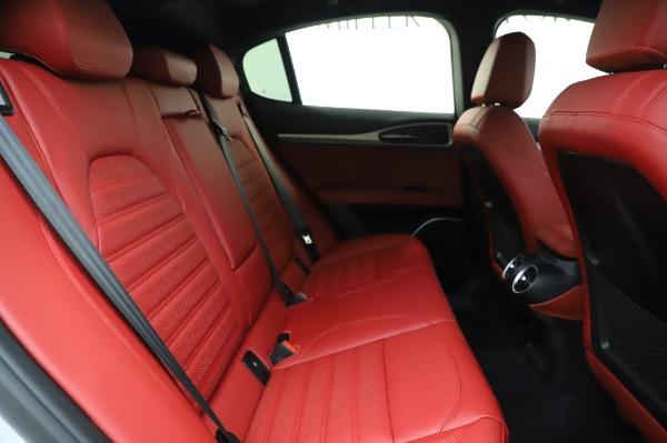 New 2020 Alfa Romeo Stelvio Ti Sport Q4 for sale $53,545 at Rolls-Royce Motor Cars Greenwich in Greenwich CT 06830 25