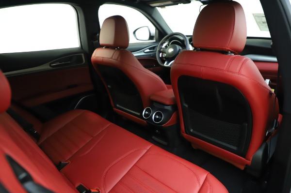 New 2020 Alfa Romeo Stelvio Ti Sport Q4 for sale $53,545 at Rolls-Royce Motor Cars Greenwich in Greenwich CT 06830 26