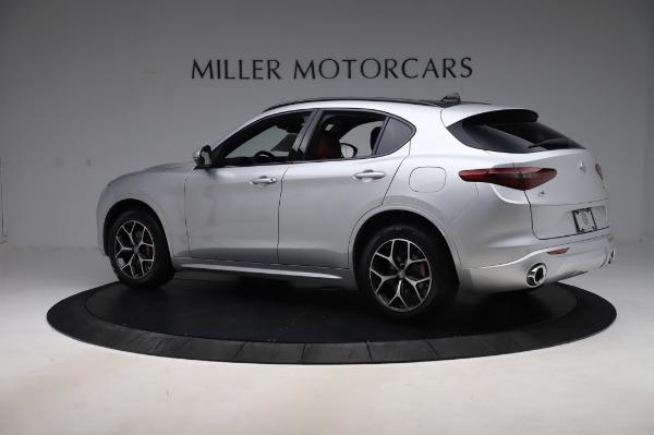 New 2020 Alfa Romeo Stelvio Ti Sport Q4 for sale $53,545 at Rolls-Royce Motor Cars Greenwich in Greenwich CT 06830 4