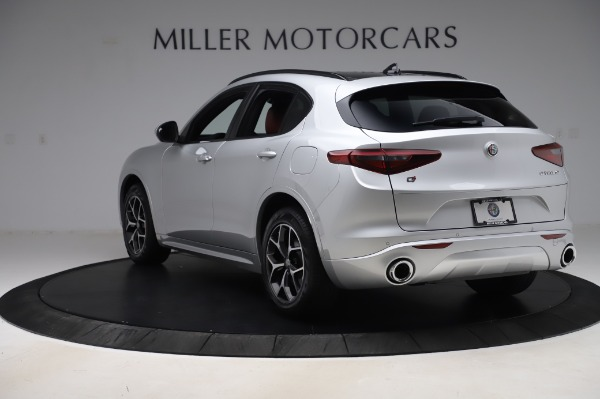 New 2020 Alfa Romeo Stelvio Ti Sport Q4 for sale $53,545 at Rolls-Royce Motor Cars Greenwich in Greenwich CT 06830 5