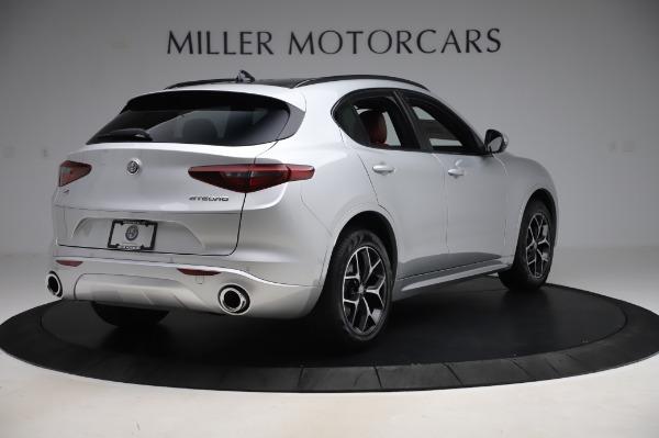 New 2020 Alfa Romeo Stelvio Ti Sport Q4 for sale $53,545 at Rolls-Royce Motor Cars Greenwich in Greenwich CT 06830 7