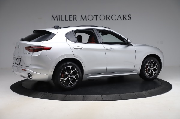 New 2020 Alfa Romeo Stelvio Ti Sport Q4 for sale $53,545 at Rolls-Royce Motor Cars Greenwich in Greenwich CT 06830 8