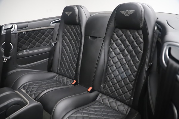 Used 2016 Bentley Continental GTC Speed for sale $146,900 at Rolls-Royce Motor Cars Greenwich in Greenwich CT 06830 21