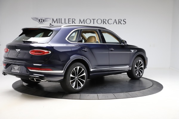 New 2021 Bentley Bentayga V8 for sale $209,755 at Rolls-Royce Motor Cars Greenwich in Greenwich CT 06830 9