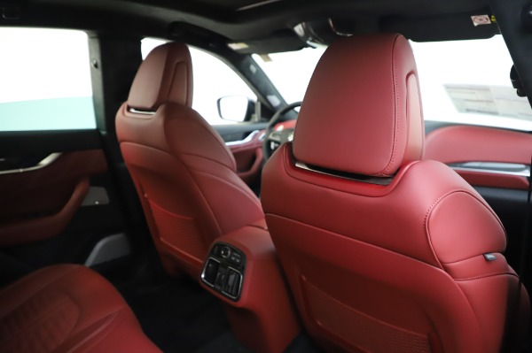 New 2020 Maserati Levante GTS for sale Sold at Rolls-Royce Motor Cars Greenwich in Greenwich CT 06830 28