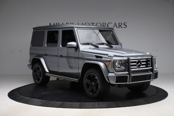 Used 2017 Mercedes-Benz G-Class G 550 for sale $86,900 at Rolls-Royce Motor Cars Greenwich in Greenwich CT 06830 11