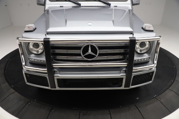 Used 2017 Mercedes-Benz G-Class G 550 for sale $86,900 at Rolls-Royce Motor Cars Greenwich in Greenwich CT 06830 13